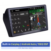 10.1 inch Android 10.0 For Santana Vista  2003-2012 Radio GPS Navigation System With HD Touchscreen Bluetooth support Carplay OBD2