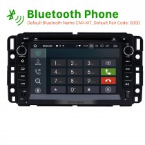 2007-2012 GMC Tahoe Android 8.0 GPS navigation system DVD player  Bluetooth  Radio HD 1024*600 touch screen OBD2 DVR Rearview camera TV 1080P Video 4G WIFI Steering Wheel Control USB Mirror link