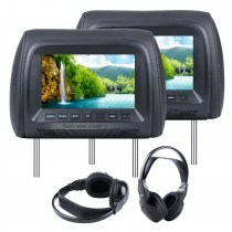 Car Headrest high definition 800*480 LCD Monitor(1 Pair)