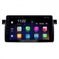 9 inch Radio HD touchscreen Android 10.0 for 1998-2006 BMW 3 Series X35 E46 GPS Navigation System with WIFI Bluetooth USB Mirror Link Rearview AUX