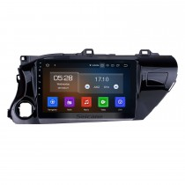 10.1 inch Android 9.0 GPS Navi Radio for 2016 2017 2018 Toyota Hilux Left hand driver with WIFI AUX USB Bluetooth support 4G Backup Camera DVD OBD2
