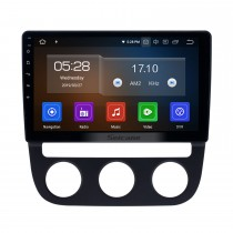 10.1 inch 2006-2010 VW Volkswagen Sagitar Auto A/C Android 9.0 GPS Navigation Radio Bluetooth HD Touchscreen Carplay support Mirror Link