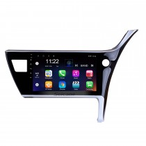 10.1 inch Android 8.1 2017 Toyota Corolla Right Hand driving Car Head unit HD Touchscreen Radio GPS Navigation System Support 3G Wifi Rear View Camera Video Carplay Bluetooth DVR OBD II
