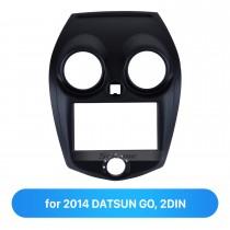 2 Double DIN In Dash Car Stereo Radio Fascia Panel Trim Frame Installation Kit For 2014 DATSUN GO OEM Style No Gap