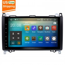 9 inch Android 7.1 Radio GPS Sat Nav for 2006-2012 Mercedes Benz Sprinter 211 CDI 309 CDI 311 CDI 509 CDI With WiFi Mirror Link OBD2 USB Bluetooth 1080P Video