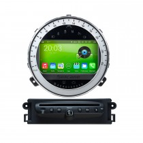 Android 8.0 Car GPS Navigation DVD Player For 2006-2013 BMW Mini Cooper With Radio Bluetooth 1080P Video USB SD Rearview Camera TV DVR