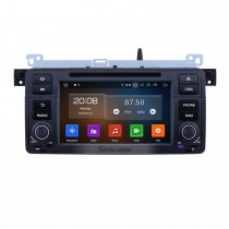 7 inch Android 9.0 GPS Navigation Radio for 1998-2006 BMW 3 Series E46 M3 with HD Touchscreen Carplay Bluetooth Music USB support Mirror Link Backup camera