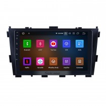 Android 9.0 For 2014 Baic Huansu Radio 9 inch GPS Navigation System Bluetooth HD Touchscreen Carplay support Rear camera