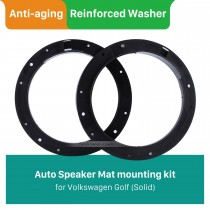 Solid Car Plates Bracket Speaker Mat for Volkswagen Golf