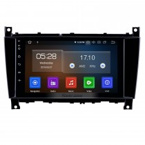 8 inch Android 9.0 GPS Navigation Radio for 2005-2007 Mercedes-Benz G Class W467 G550 G500 G400 G320 G270 G55 Bluetooth HD Touchscreen Carplay support Digital TV