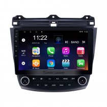 10.1 inch Android 10.0 GPS Navigation System Bluetooth For 2003 2004 2005 2006 2007 Honda Accord 7 Support Radio DVD Player Remote Control Touch Screen TV tuner