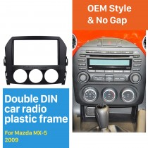 2DIN 2009 Mazda MX-5 Car Radio Fascia Dash Player Stereo Install Panel Trim Vehicle-mounted Car-styling Kit Frame