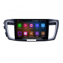 10.1 inch Android 9.0 Radio for 2013 Honda Accord 9 Low Version Bluetooth Touchscreen GPS Navigation Carplay USB AUX support TPMS DAB+ SWC