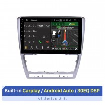 10.1 inch For 2007-2012 2013 2014 Skoda Octavia Radio Android 10.0 GPS Navigation System Bluetooth HD Touchscreen Carplay support OBD2