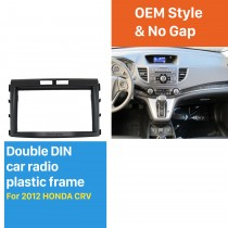 2DIN Car Radio Frame High Quality Cover Fascia for 2012 Honda CRV Dash Trim installation Kit Auto Stereo interface Panel Plate surround DVD Player