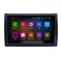 Android 9.0 9 inch GPS Navigation Radio for 2010 Fiat Stilo with HD Touchscreen Carplay Bluetooth Mirror Link support TPMS Digital TV
