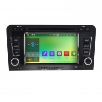 2003-2013 Audi A3 S3 RS3 Android 7.1 Radio DVD GPS Navigation with 800*480 Touchscreen Mirror Link Bluetooth OBD2 DVR Rearview Camera 1080P 3G WIFI Steering Wheel Control