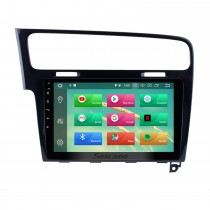 10.1 Inch OEM Android 8.0 Radio GPS Navigation system For 2013 2014 2015 VW Volkswagen GOLF 7 Bluetooth HD Touch Screen WiFi Music SWC TPMS DVR OBD II Rear camera AUX 1080P Video USB Carplay