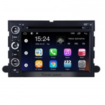 OEM 7 inch Android 9.0 Radio GPS navigation system for 2005-2009 Ford Mustang with Bluetooth DVD player HD 1024*600 touch screen OBD2 DVR Rearview camera TV 1080P Video USB SD 3G WIFI Steering Wheel Control