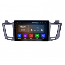 10.1 inch Android 9.0 GPS Navigation Radio for 2013-2016 Toyota RAV4 LHD with HD Touchscreen Carplay Bluetooth WIFI USB AUX support Mirror Link OBD2