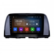 9 Inch OEM Android 9.0 Radio GPS Navigation system For 2012 2013 2014 2015 MAZDA CX-5 with Bluetooth Capacitive Touch Screen TPMS DVR OBD II Rear camera AUX 3G WiFi HD 1080P Video Headrest Monitor Control USB SD