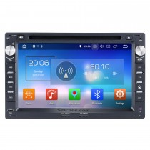 Aftermarket Android 8.0 GPS navigation system for 1999-2005 VW Volkswagen Polo with Radio Bluetooth  DVD player HD 1024*600 touch screen  OBD2 DVR Rearview camera TV 1080P Video 3G WIFI Steering Wheel Control USB Mirror link