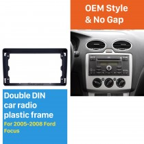 Black Frame for 9 inch 2005-2008 FORD FOCUS Audio Dash Trim Fascia Panel Kit