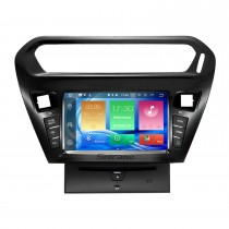 8 inch HD Touchscreen 2012 2013 CITROEN ELYSEE/peugeot 301 Android 8.0 Radio DVD GPS Navigation System with Bluetooth Music Wifi CD Mirror Link OBD2 DAB+ Backup Camera