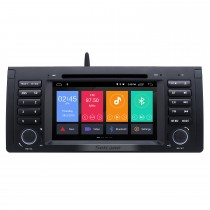 7 inch Android 9.0 HD Touchscreen Radio for 1996-2003 BMW 5 Series E39 X5 E53 with GPS Navigation Bluetooth support DVR 1080P Video TPMS