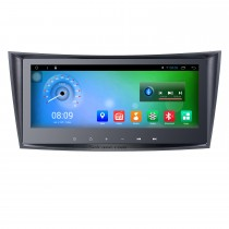 8.8 Inch 2002-2008 Mercedes-Benz E Class W211 E200 E220 E240 E270 E280 Android 8.1 Capacitive Touch Screen Radio GPS Navigation system with Bluetooth TPMS DVR OBD II Rear camera AUX USB SD 3G WiFi Steering Wheel Control Video