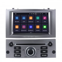 OEM Android 9.0 Radio GPS Navigation system for 2004-2010 Peugeot 407 with Wifi Backup Camera Bluetooth Mirror Link Steering Wheel Control OBD2 DAB+ DVR AUX