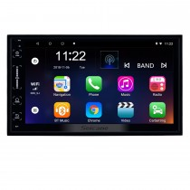 7 inch 2 Din Android 8.1 Universal GPS Navigation Radio with HD Touchscreen Bluetooth support OBD2 Carplay Steering Wheel Control