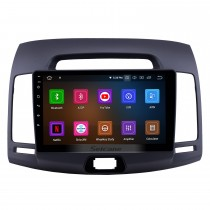 2007-2011 Hyundai Elantra Android 9.0 9 inch GPS Navigation Radio Bluetooth HD Touchscreen USB Carplay Music support TPMS OBD2 Steering Wheel Control