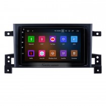 Android 9.0 Radio GPS navigation system for 2005-2013 Suzuki Vitara with DVD player Bluetooth HD 1024*600 touch screen OBD2 DVR Rearview camera TV 1080P Video 4G WIFI Mirror link Steering Wheel Control USB