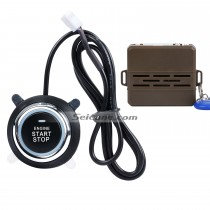 Universal Dormant Lock Remote Control Engine system with One Button Start Stop Anti-theft Car Alarm system