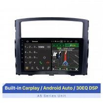 9 Inch 2006-2017 MITSUBISHI PAJERO V97/V93 HD Touchscreen GPS Navigation System Android 10.0 Radio Support Bluetooth OBDII Rear Camera AUX Steering Wheel Control USB 1080P 3G/4G WiFi TPMS DVR USB