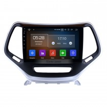 10.1 Inch Android 9.0 Touch Screen radio Bluetooth GPS Navigation system For 2016 Jeep Cherokee with TPMS DVR OBD II USB SD 3G WiFi Rear camera Steering Wheel Control HD 1080P Video AUX
