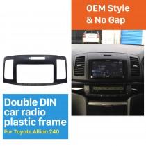 202*102mm Double Din Toyota Allion 240 Car Radio Fascia Trim Installation Kit Dash CD Frame Audio Cover