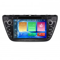 8 inch 2013 2014 2015 Suzuki S-Cross SX4 Android 8.0  Radio DVD GPS navigation system with HD 1024*600 touch screen Bluetooth OBD2 DVR Rearview camera TV 1080P Video 3G WIFI Steering Wheel Control Mirror link