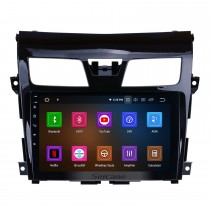 9 inch  Android 9.0 2013 2014 2015 2016 2017 NISSAN TEANA Bluetooth GPS Navigation System with HDTouch Screen 3G WiFi  AUX Steering Wheel Control USB 1080P support TPMS DVR OBDII Rear Camera