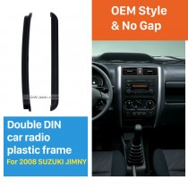 173*98/178*102mm Double Din 2008 Suzuki Jimmy Car Radio Fascia DVD Player Face Plate Fitting Frame