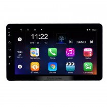 8 inch Universal Radio Android 10.0 HD Touchscreen Bluetooth GPS Navigation USB AUX Music support Carplay 3G WIFI Mirror Link Steering Wheel Control