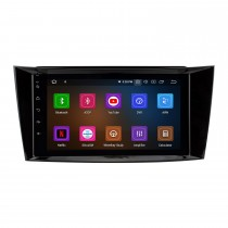 8 inch Android 11.0 Radio IPS Full Screen GPS Navigation Car Multimedia Player for 2005-2006 Mercedes Benz CLK W209 with RDS 3G WiFi Bluetooth Mirror Link OBD2 Steering Wheel Control