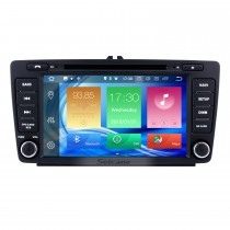 8 inch Android 8.0 Radio for 2013 2014 Skoda Octiva with DVD GPS Bluetooth HD 1024*600 Touch Screen OBD2 DVR 1080P 3G WIFI Steering Wheel Control Rearview Camera