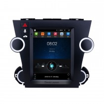 Android 6.0 9.7 inch GPS Navigation Radio for 2009-2014 Toyota Highlander with HD Touchscreen Bluetooth WIFI AUX support Carplay Mirror Link OBD2