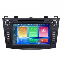 8 inch HD Touchscreen Android 8.0 for 2010 2011 2012 Mazda 3 Radio GPS Navigation System with Bluetooth USB Support 1080P Video Mirror Link