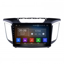 10.1 Inch Android 9.0 Radio For 2014 2015 HYUNDAI IX25 Creta with 3G WiFi Bluetooth GPS Navigation system Capacitive Touch Screen TPMS DVR OBD II Rear camera AUX Headrest Monitor Control USB SD Video