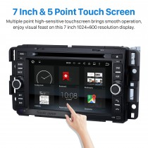 Android 8.0 GPS Navigation System for 2007-2011 Chevrolet Chevy Tahoe with Radio DVD Player Bluetooth Touch Screen DVR WIFI TV Steering Wheel Control