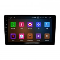 For VOLKSWAGEN BORA 2004-2007 Radio Android 10.0 HD Touchscreen 9 inch with AUX Bluetooth GPS Navigation System Carplay support 1080P Video