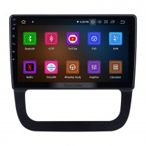 For 2011 VW Volkswagen Sagitar Radio 10.1 inch Android 11.0 HD Touchscreen Bluetooth with GPS Navigation System Carplay support 1080P